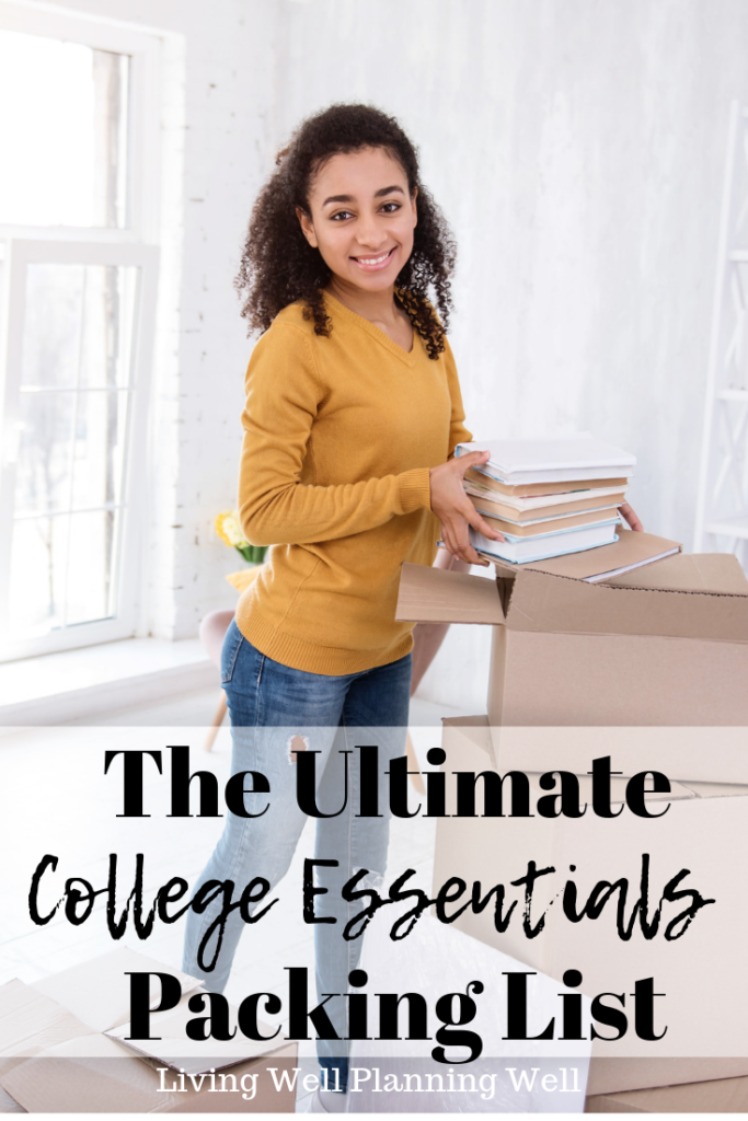 The Ultimate College Essentials Packing List | What You
